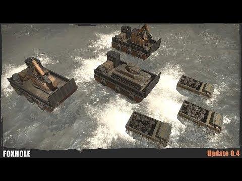Amphibious Warfare & Tank Traps - Foxhole (Update 0.4)
