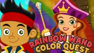 Jake And The Neverland Pirates Full Game Episodes Rainbow Wand Color Quest