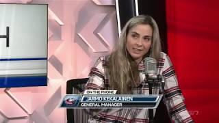 Jarmo Kekalainen on the Blue Jackets' Series Win (Apr. 17, 2019)