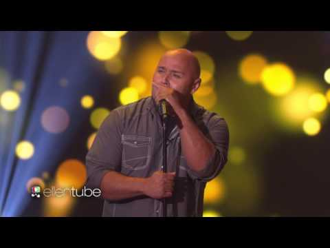 'Singing Dad' Kris Jones Performs 'Tennessee Whiskey'.