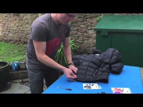 How To Repair A Hole In Your Down Jacket From Downjacketrepair.com