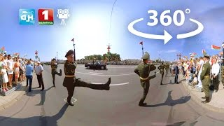 360° : Военный парад в Минске 2016 // Military parade in Minsk (Full version)