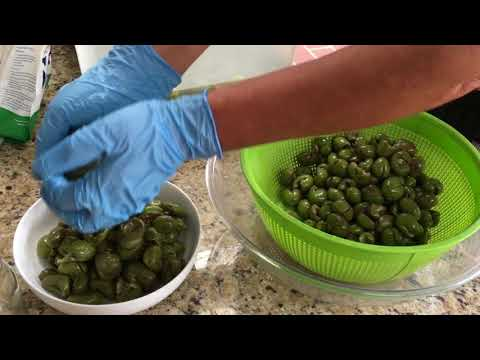 Nonna Franca Preserving Pitted Green Olives