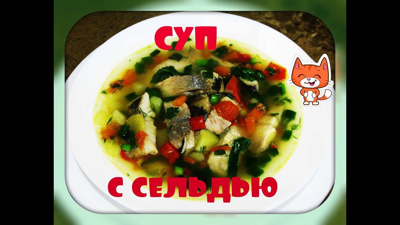 Суп с сельдью атлантической./herring soup/.