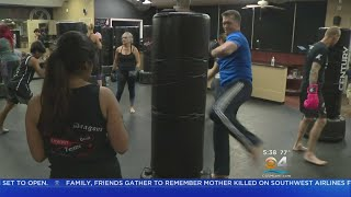 Moving U: Kickboxing Isn't just A Combat Sport, It's A Great Workout