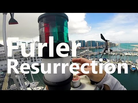 Ep 48 Electric In-Mast Furler Resurrection (Sailing Talisman)