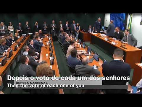(POR/ENG subtitles) Eduardo Bolsonaro take ofice as chairman of the International Affairs Commite