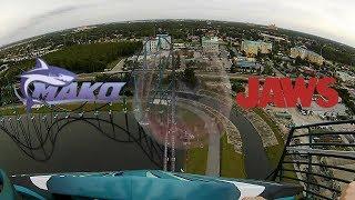 Mako Meets Jaws! SeaWorld Orlando Watch with sound!