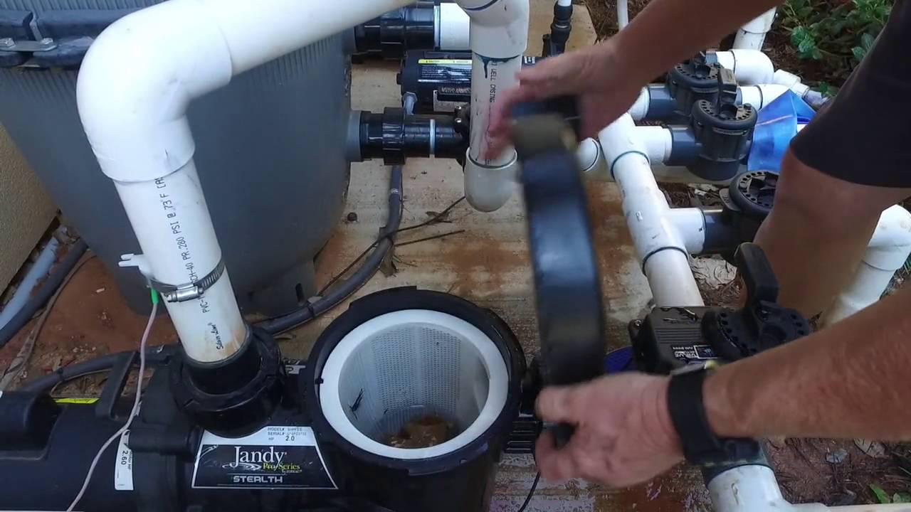 Pool Maintenance 101 Cleaning The Filter Pump Basket