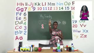 My Zone Online School 2021: Grade 1 - Week 1 - Lesson 1 (Vocabulary, Number 1 and The 'a' sound)