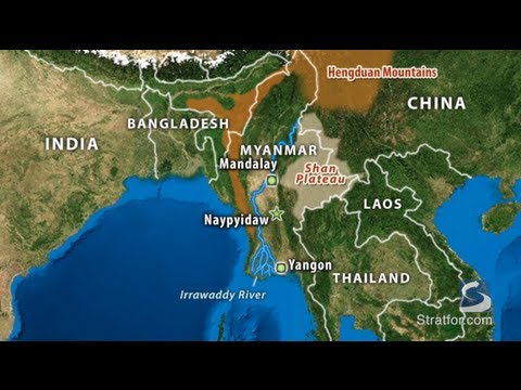 Myanmar's Geographic Challenge