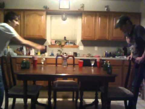 Drinking Games - The Mickey Toss