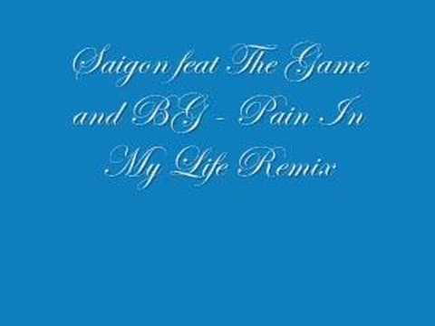 Saigon feat. The Game and BG - Pain In My Life Remix