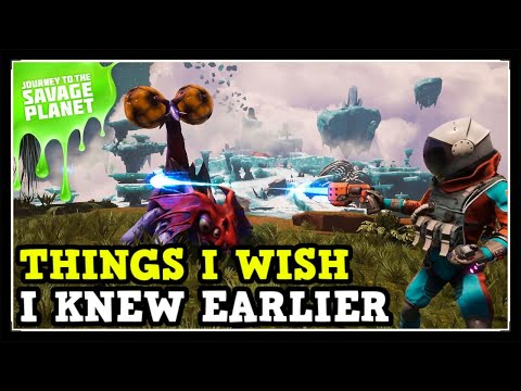 Things I Wish I Knew Earlier In Journey To The Savage Planet (Tips & Tricks)