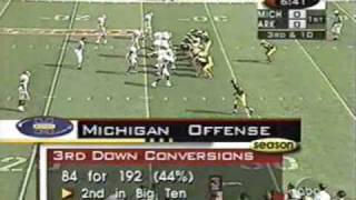 1999 Citrus Bowl: Michigan 45 Arkansas 31 (PART 1)