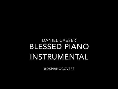 Daniel Caeser - Blessed Piano Instrumental