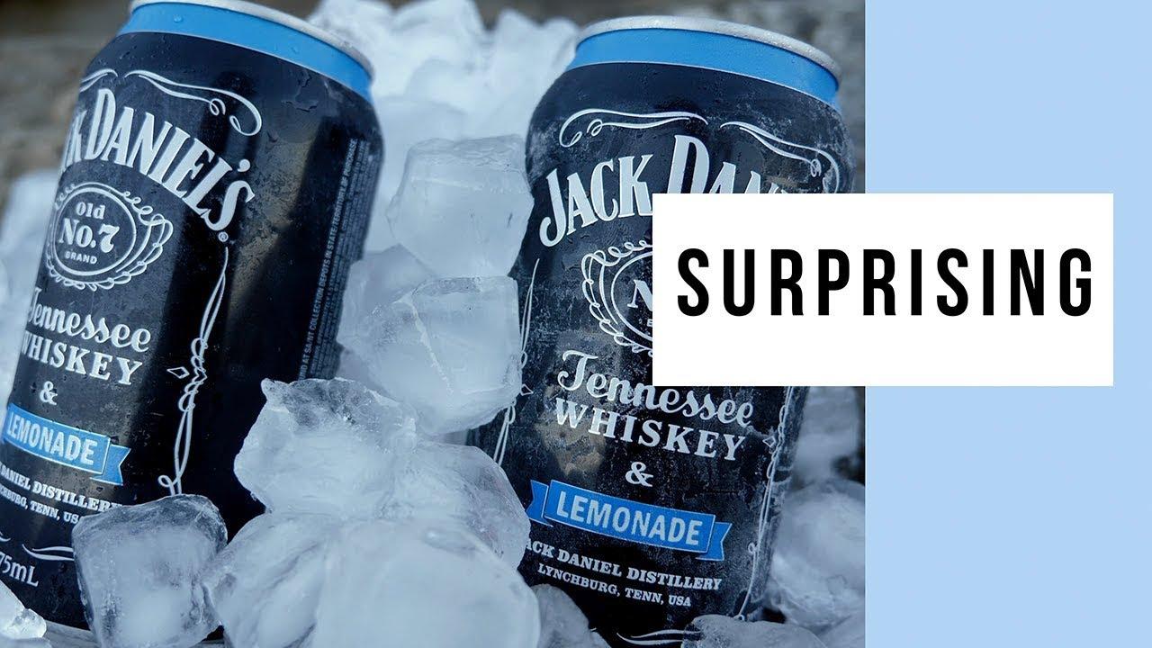 Jack Daniel's And Lemonade Premix