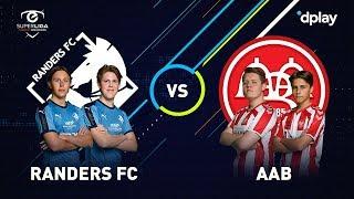 eSuperliga 9. runde: Randers FC-AaB