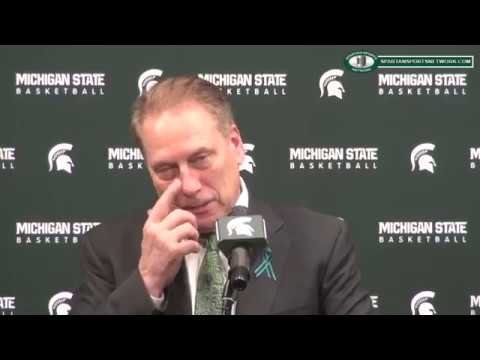 Tom Izzo Previews the NCAA Tournament and Bucknell