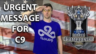 Coach Jolt3d Motivates Cloud9 for Worlds