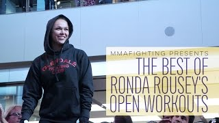 Best of Ronda Rousey's Open Workouts