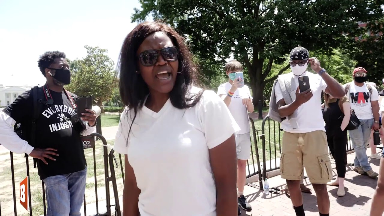 'Black Lives Matter Is a Joke' — Black D.C. Resident Tells Far-Left Group 'Go to Chicago'