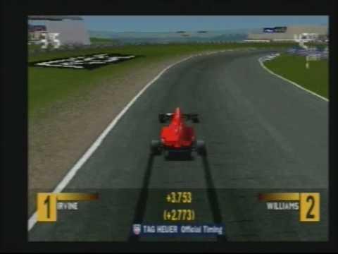 Playstation PS1 Formula 1 F1 97.