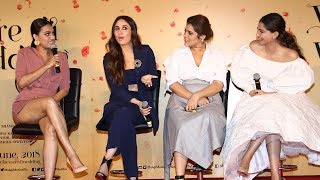 veere di wedding trailer launch complete video hd kareena kapoor sonam kapoor swara bhaskar