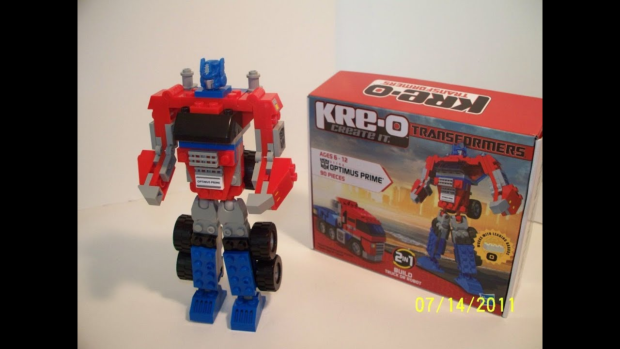 Customize your avatar with the kre-o optimus prime helmet and millions of. You won the kre-o transformers game while playing on the optimus prime.