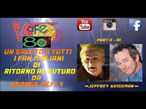 Jeffrey Weissman George Mcfly BTTF 2 3 Cafe 80 Story