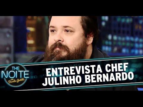 The Noite (25/07/14) - Entrevista com o chef Julinho Bernardo