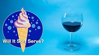 🍷 Red Wine - Will It Soft Serve?