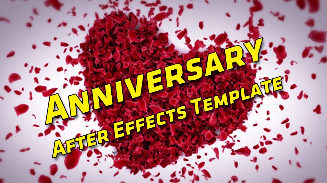 Happy Wedding Anniversary Wishes Hd After Effects Youtube