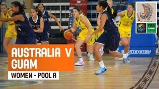 Australia v Guam (Women) - Full Game - 2014 FIBA Oceania U19 Championship