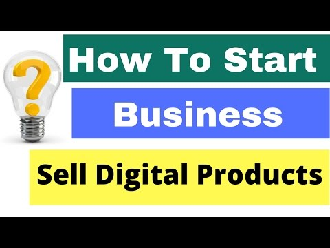 How to start Online business by selling digital products in hindi