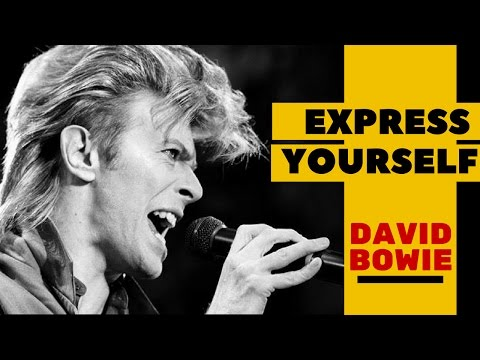 DAVID BOWIE   BEST MOTIVATIONAL QUOTES EVER   EXPRESS YOURSELF