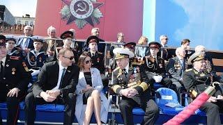 Визит Ильхама Алиева и первой леди Мехрибан Алиевой в Москву