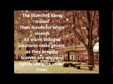 Sleeping At Last - Snow Lyrics HQ