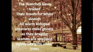 Sleeping At Last - Snow lyrics HQ