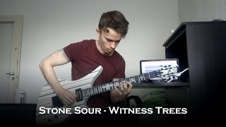 Stone Sour - The Witness Trees (Guitar Cover + Solo)
