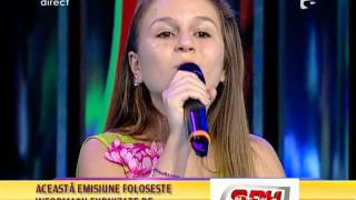 Repeat youtube video Oana Tabultoc, micuta rusoaica, canta live Acces Direct -