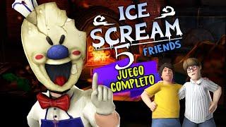 CÓMO COMPLETAR ICE SCREAM 5: Friends: Las Aventuras de Mike (Horror Game)