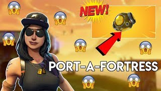 The *NEW* Port A Fortress Is A Fortnite Cheat Code