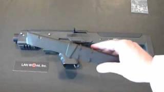 LAN World, Inc. New Product Video, HERA-ARMS Glock Stock