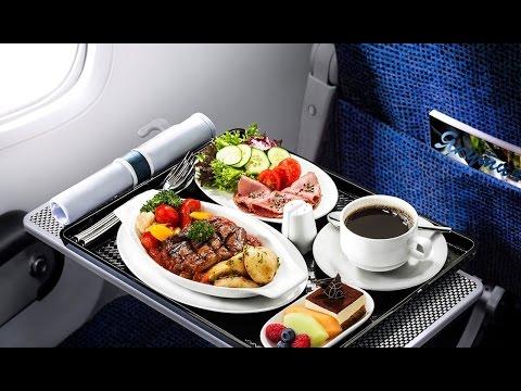 Питание на борту самолета. Меню в самолетах