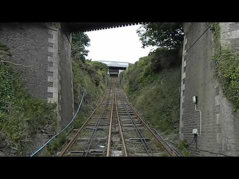 Full journey up Constitution Hill on Aberystwyth's Cliff Rai