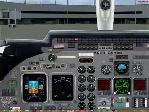 learjet in vatsim