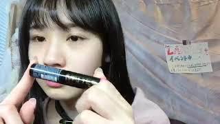 프로듀스48에 출연했던 아라마키 미사키(荒巻美咲)의 2018년 10월 25일...