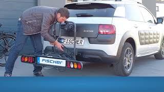 FISCHER Kupplungs-Fahrradträger / Portabici / Porte-vélos