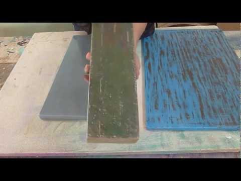 Pintura En Muebles - Acabado Rustico En Madera Facil - Luis Lovon